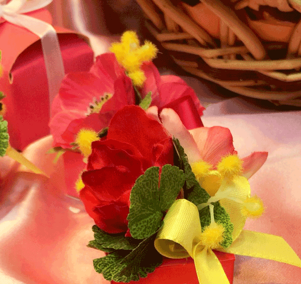 Marturii de nunta Handmade Miere si Flori