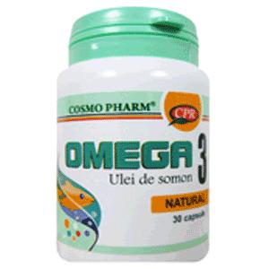 Uleiul de somon cu Omega 3 pentru copii si adulti