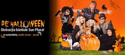 Activitati gratuite de Halloween pentru copii la Sun Plaza