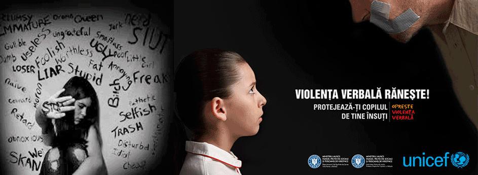 UNICEF: Violenta verbala raneste!