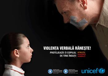UNICEF Violenta Verbala Raneste!