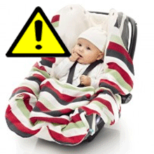 Cum tinem copii in siguranta in masina iarna chiar si in scaunul auto