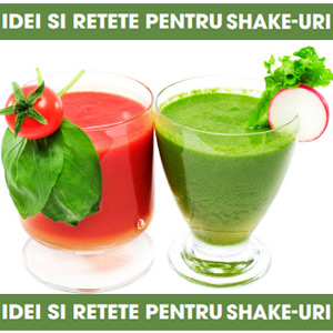 Dieta prin shakeuri nutritive cu fructe legume si seminte
