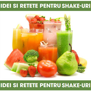 Retete de Shake-uri Nutritive cu fructe, legume si seminte