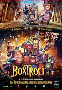 Boxtrolls film animatie pentru copii DVD