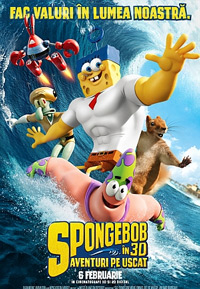 Spongebob Filmul: Aventuri pe uscat