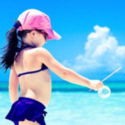 Copiii si soarele Pielea sensibila are nevoie de protectie