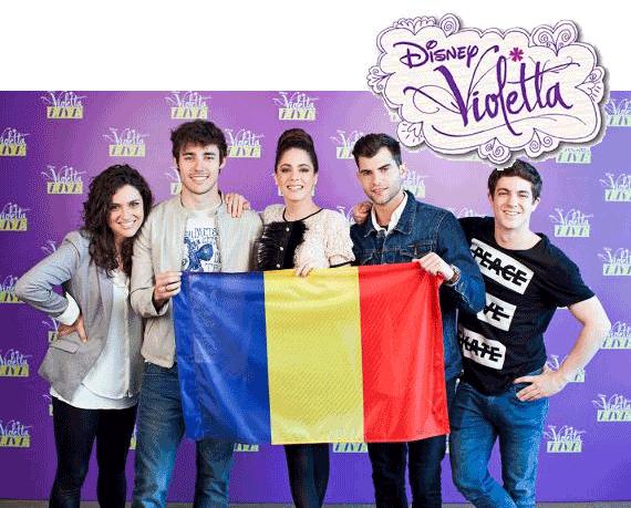 Concertul Disney Violetta Bucuresti