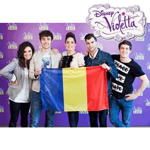 Castiga un bilet la Concertul Disney Violetta Live Bucuresti Martina Stoessel
