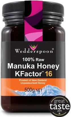 Miere de Manuka Raw Wedderspoon KFactor16