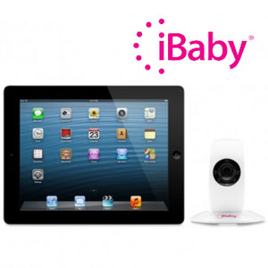 Aparat Monitorizare bebelusi bona menajera si casa iBaby Monitor
