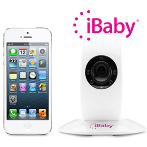 Cu iBaby Monitor poti supraveghea copilul bona menajera chiar si casa