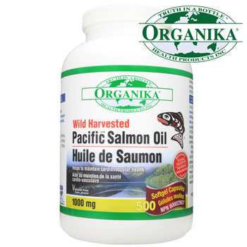 Capsule de ulei de somon salbatic Pacific Organika 180CPS
