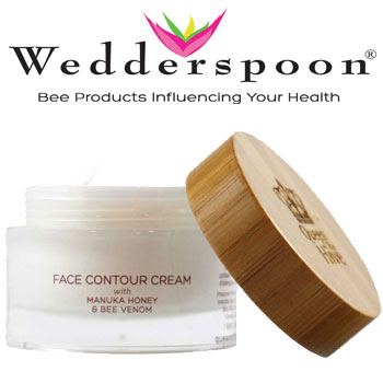 Crema antirid Wedderspoon Face Countour Cream with Manuka Honey and Bee Venom