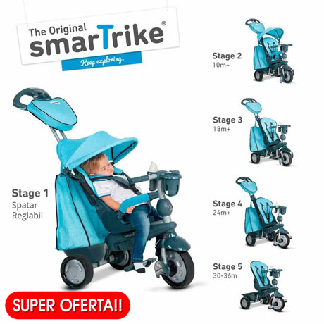 Recomandare – Tricicleta Smart Trike Explorer 5 in 1