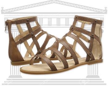 Sandale Gladiator si Sandale Romane din piele naturala