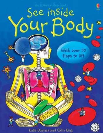 Carti Usborne pentru copii See Inside Your Body
