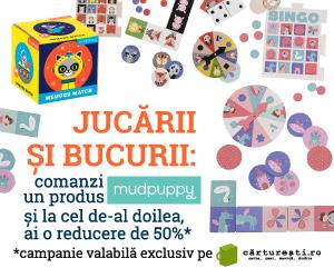 Jucarii si Bucurii de Craciun pentru copii Cadouri din lista lui Mos Craciun pe Carturesti.ro