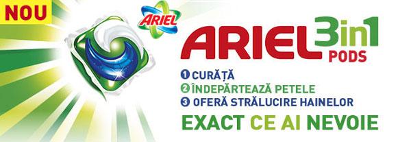 Pareri detergent capsule Ariel 3in1 PODS