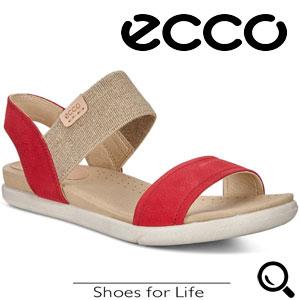 Sandale ECCO casual din piele pentru femei