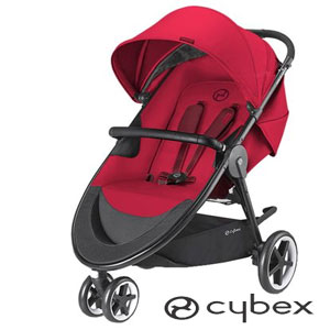 Carucior Cybex 3 in 1 Agis M-Air3 B Rebel, Rosu